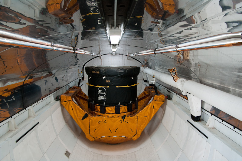 Space shuttle cargo bay