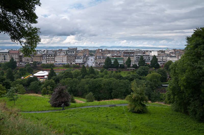 Princes Street Gardens and New Town